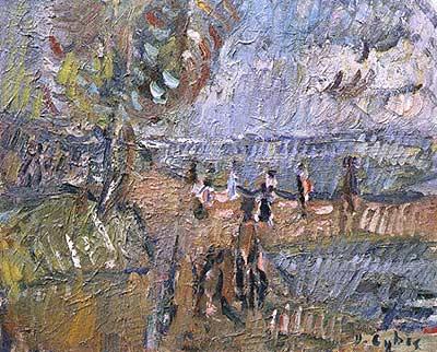 Obrazy Z Fakturą Jan Cybis Papier Kamień Nożyczki