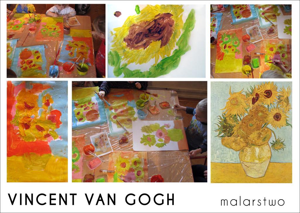 Vincent van Gogh - sloneczniki